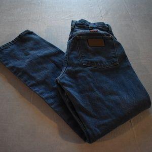 Vintage Womens Wranglers High Waist Mom Jeans 5x30